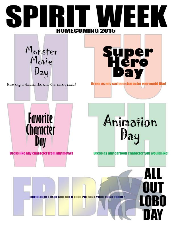 The Gallery For Gt Spirit Week Flyer