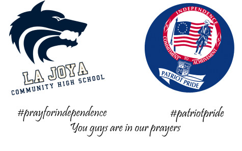 La Joya Prays for Independence High School