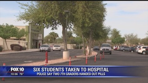Students From Centerra Mirage STEM Academy Hospitalized After Taking Pills