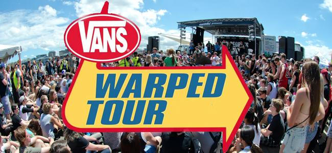 Vans Warped Tour: COMING SOON To A City Near You !