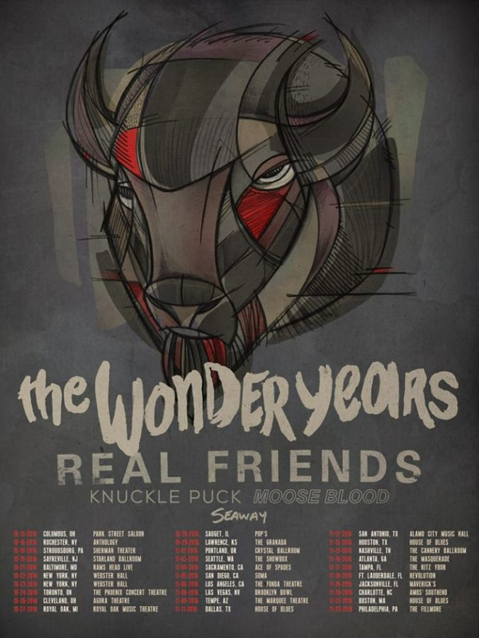 WIN Tickets to see The Wonder Years, Real Friends, Knuckle Puck and MORE!
