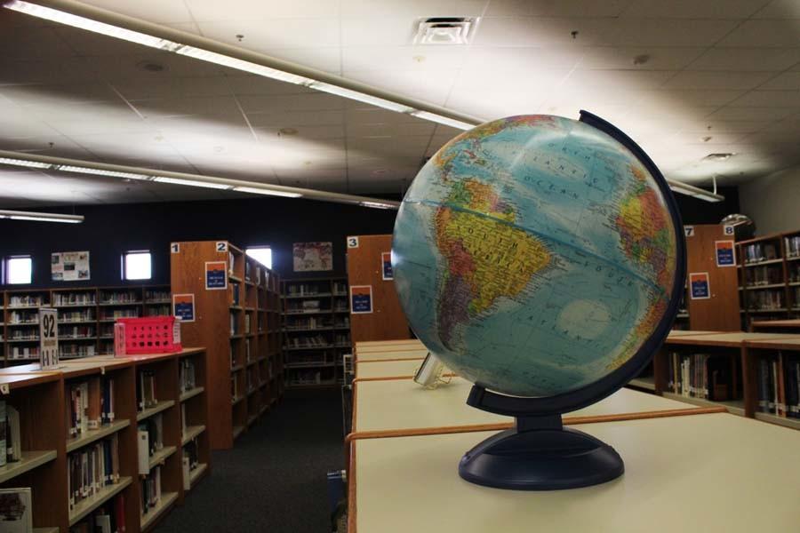 Explore the library, explore the world.