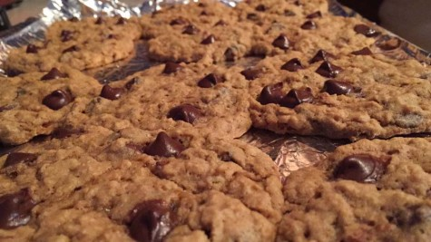 Loaded Oatmeal Chocolate Chip Cookies!