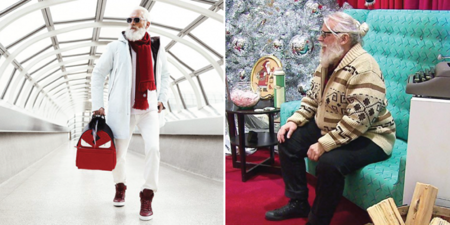 When Santa starts wearing less and going out more!