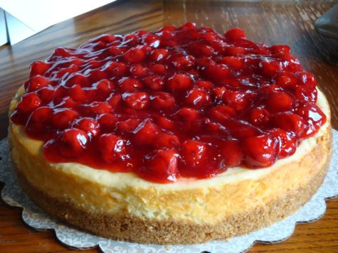 Happy National Cherry Cheesecake Day!