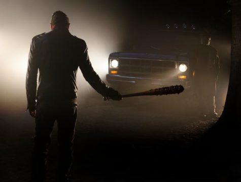Negan and his bat Lucille.