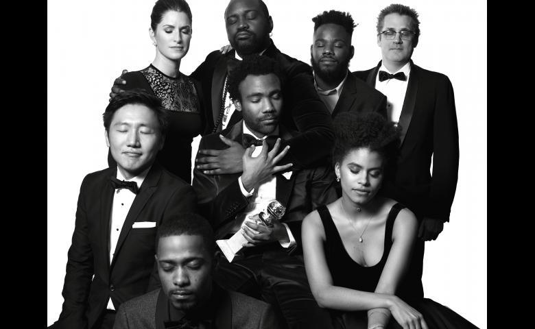 The+cast+of+FX%27s+Golden+Globe+winning+show%2C+%22Atlanta%22