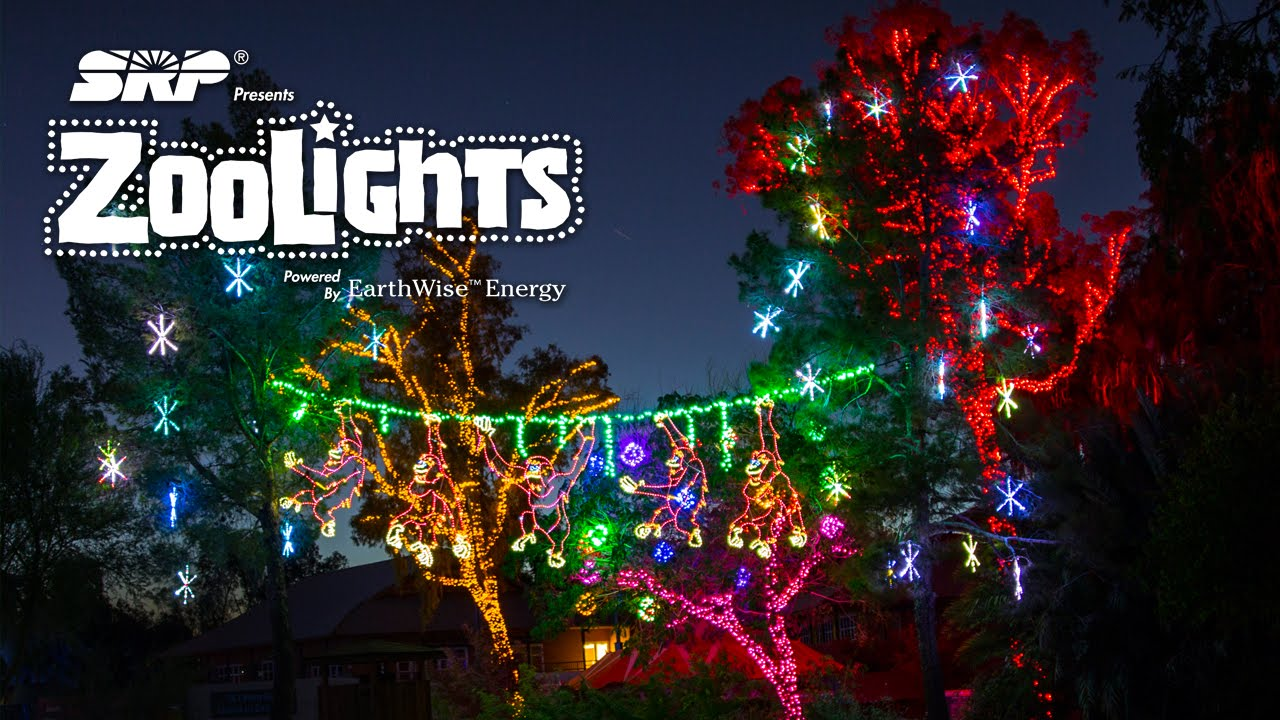 Phoenix Zoo Lights is here and has many attractions and is great for all ages!