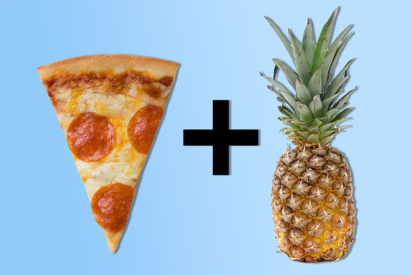 Pizza and Fruit?