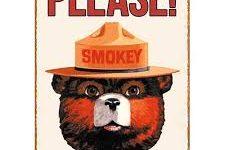Where is Smokey the Bear ?