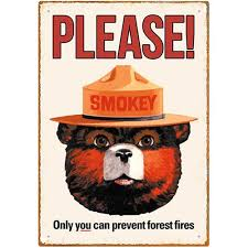 Where is Smokey the Bear ?