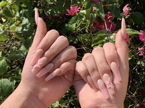 Nails that she did for me