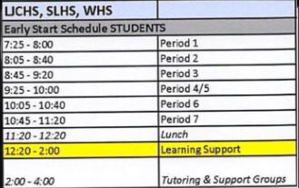 Schedule Change: Hectic or Not?