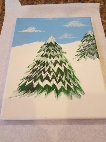 Creating A Winter Themed Painting