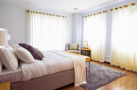 a clean room will provide clarity and a feeling of relief.