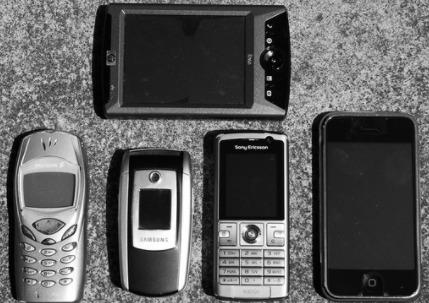 Different Phones